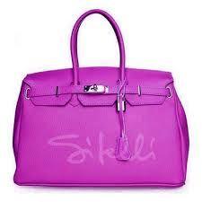 Risultati immagini per borse pelle rosa
