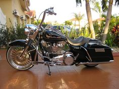 """Pictures of 14"""" Carlini Gangster Apes on a RK or RKC - Harley Davidson Forums"""