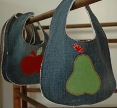 Great use of your old jeans!