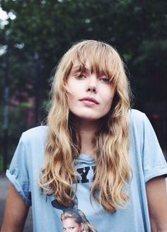 queenfrida:Frida Gustavsson by Stef Mitchell Vintage Hairstyles, Hairstyles With Bangs, Pretty Hairstyles, Frida Gustavsson, Grunge Hair, Hair Dos, Her Hair, Hair Inspiration, Hair Makeup