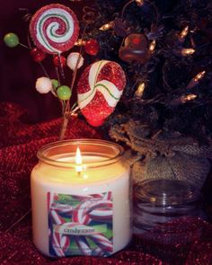 The yummy smells of candy canes...so perfect this time of year!
