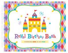 Printables GRÁTIS! Toy Inspirado Real Primeira Birthday Bash
