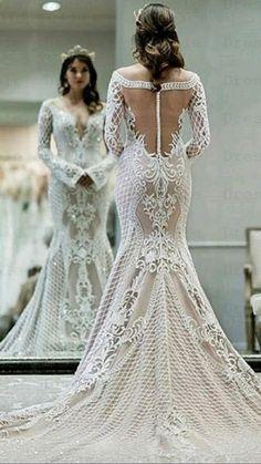 Fall Wedding Dresses, Princess Wedding Dresses, Boho Wedding Dress, Bridal Dresses, Wedding Gowns, Lace Wedding, Trendy Wedding, Backless Wedding, Summer Wedding