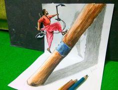 Bahubali 2 - Drawing Prabhas - 3D drawing of Prabhas   Realistic drawing Prabhas   Drawing Devasena - Anushka Shetty   Incredible scene of Bahubali 2 Pencil Art Drawings, Realistic Drawings, Colorful Drawings, Prabhas And Anushka, Message Card, Bahubali 2, The Incredibles, Scene, Births