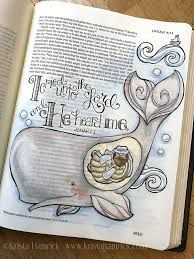 Image result for jonah and the whale bible journaling