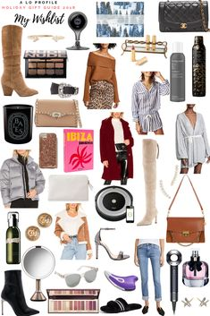 Sharing my holiday wishlist with gift ideas for women in every price range so you can get great presents for the females in your life or for yourself. Everyday Outfits, Everyday Fashion, Holiday Outfits, Winter Outfits, Cool Style, My Style, Holiday Gift Guide, Fashion Outfits, Fashion Tips