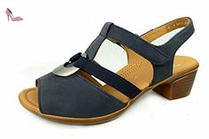 8bdb1da2aa82d4 ara 12-35715-06, Sandales femme - bleu - bleu, - Chaussures