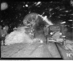 Vintage Photographs of Toronto Snow Storms that took place over the years including some of the aftermaths and how the city dealt with the snow. Toronto Snow, Toronto Ontario Canada, Toronto City, Vintage Photographs, Vintage Photos, Love Like Winter, Canadian History, Historical Pictures, Old Pictures