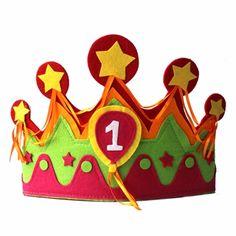 Een super verjaardagskroon. Hierbij krijgt u cijfer 1 en 2 en 3 en 4 en 5 meegeleverd!