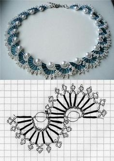 67 Best ideas for diy jewelry tutorials necklace beautiful Seed Bead Jewelry, Bead Jewellery, Jewlery, Beading Jewelry, Jewelry Findings, Beaded Necklace Patterns, Beaded Bracelets, Bib Necklaces, Necklace Ideas