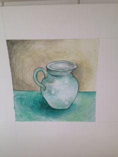 Little jug - watercolour