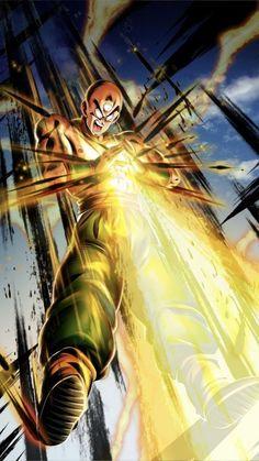 Tien Dragonball z Dbz, Dragon Ball Z, Manga Anime, Anime Art, Super Manga, Manga Dragon, Dope Cartoons, Enter The Dragon, Bd Comics