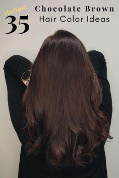 Chesnut Brown Hair, Hair Color Brown, Brown Hair Inspo, Dark Brown Hair Rich, Mahogany Brown Hair Color, Chocolate Brown Hair Dye, Chocolate Brunette Hair, Pretty Brown Hair, Mocha Brown Hair