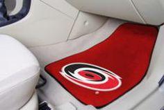 NHL - Car Mats 2 Piece Front  - Carolina Hurricanes.  Buy it @ ReadyGolf.com