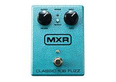 Dunlop Manufacturing :: Electronics :: MXR :: Classic 108 Fuzz