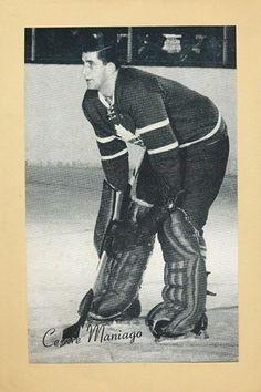 Cesare Maniago - Toronto Montreal Canadiens, Minnesota North Stars, Women's Hockey, Goalie Mask, Toronto Maple Leafs, Photo Hosting, Deconstruction, Nhl, Beehive
