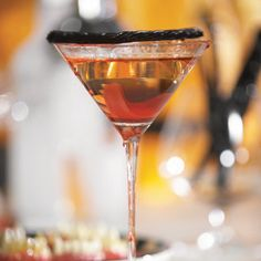 Vampire Kiss Martini | Community Post: The Ultimate Collection Of Creepy, Gross And Ghoulish Halloween Recipes