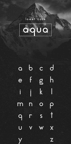 #Free #Fonts for your Flat Design Projects