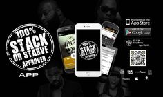 Grab our official Stack Or Starve App from the app store or Google Play!!!!!!! #StackOrStarve #StackOrStarveApproved #StackOrStarveDjs #EverythingzWorkin #app #appstore #googleplay #brand #global  #chicago #business  #stamp #approved  #official #DVD #phone #tablet