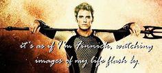 Hunger Games / Catching Fire / Finnick