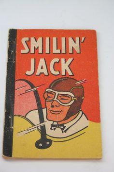 Smilin Jack Comic Penny Book- 1938- Whitman Publishing