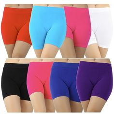 6 Pairs: High-Rise Seamless Elastic Waistband Slimming Shaper Shorts at Savings off Retail! Daily Deals, Gym Shorts Womens, Girdles, Pairs, Retail, Clothes, Create, Fashion, Fashion Clothes