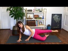 Pilates Hip and Butt Burn Workout - YouTube