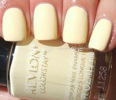 Ice Queen's Nail Parlour Revlon ColorStay in Buttercup. So pretty!