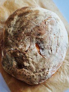 Bread and Companatico | Traditional Italian No-Knead Sourdough Bread
