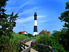 I LOVE light houses.  I took this shot on Fire Island in Long Island, New York.