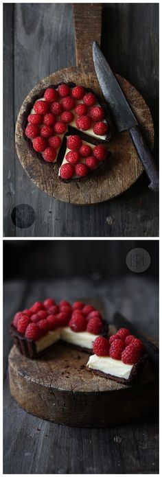 Chocolate, Raspberry and Mascarpone Tarts Ingredients Cocoa pie dough: 200 g flour (1 3/4 cup) 40 g unsweetened cococa powder (1/3 cup) 1 pinch powdered cayena pepper (optional) 1 pinch of salt 80 …