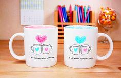 another cheesy mug idea (: