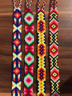 Knotted Friendship Bracelet 100% handmade. Adjustable. -1pcs  These beautiful hand woven bracelets are made with bright neon vivid colours