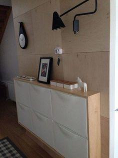 Ideas con los trones de Ikea para la entrada de casa
