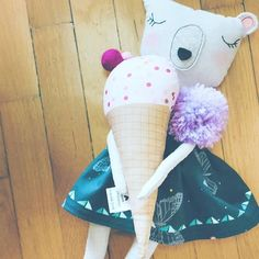 She told me she wanted some ice cream🍦🍦! So I got her a big cone of course 😁🥳 Rag Dolls, Cuddling, Little Ones, Ice Cream, Big, Cute, Shop, Instagram, Fabric Dolls