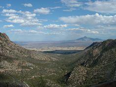 green valley arizona | Green Valley, AZ : South of Green Valley, AZ, USA looking into Mexico