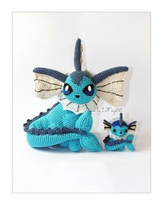 Dragonair Amigurumi Pattern : Pin by Jessica Preston on Crochet Patterns Pinterest