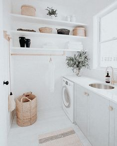 Dream House Interior, Dream Home Design, My Dream Home, Home Interior Design, Laundry Room Inspiration, Home Decor Inspiration, Boho Home, Cute House, Dream House Plans
