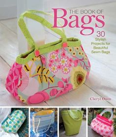 In this book choose from 30 gorgeous bags. From a stylish clutch to an eye-catching everyday purse, from a bright and cheery beach bag to a functional shop