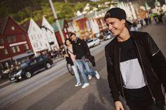 his smile :) KYGO