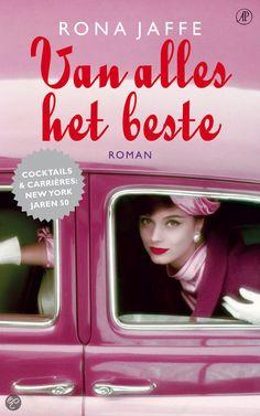 Van alles het beste   Rona Jaffe Roman, My Books, Lunch Box, Cocktails, Reading, Writers, Word Reading, Sign Writer, Bento Box