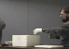 Burning Magnesium In Dry Ice Chemistry GIF