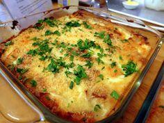 Bacclhau Com Natas ( Cod with Cream )  Portuguese