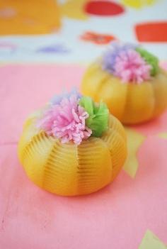 """Wagashi: """"flower-picking basket"""""""