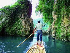 Kingston Blue Lagoon, Monkey Island and Rio Grande Rafting Tour in Jamaica South America Rio Grande, Portland, Puerto Rico, Port Antonio Jamaica, Caribbean Islands To Visit, Rafting Tour, Visit Jamaica, Meditation Retreat, Yoga Meditation