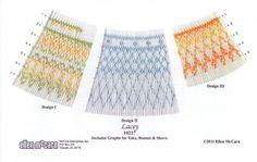 Pat Garretson PG156 Bebe Holiday Smocking Plate 4 Designs On 1 Plate