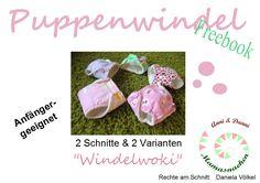 "Mama Nähblog: Freebook Puppenwindel ""Windelwoki"""