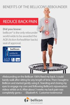 Rebounding strengthens your core muscles that support your back whilst promoting healthy joints, endurance and flexibility for alignment. Read more health benefits. Mini Trampoline Workout, Rebounder Trampoline, Core Muscles, Back Muscles, Trampolines, Posture Exercises, Better Posture, Regular Exercise, Rebounding