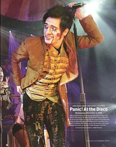 Brendon Urie: the only man alive who can look good wearing this