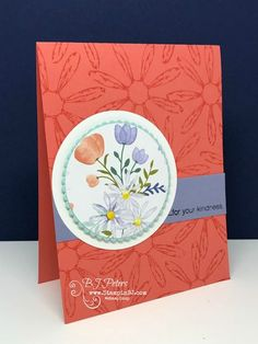 Stampin' Up!, BJ Peters, Daisy Delight, Delightful Daisy designer series paper